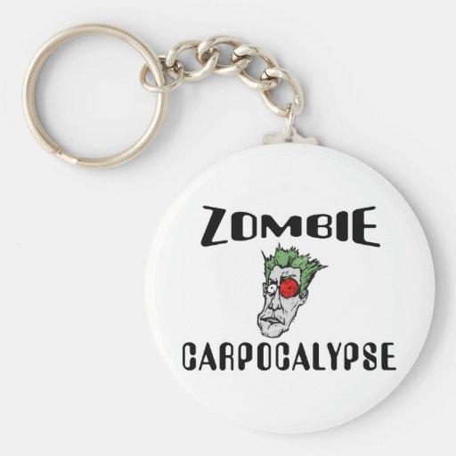 Zombie Carpocalypse Key Chains