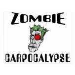Zombie Carpocalypse Postcard