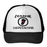 Zombie Carpocalypse Symbol Hats