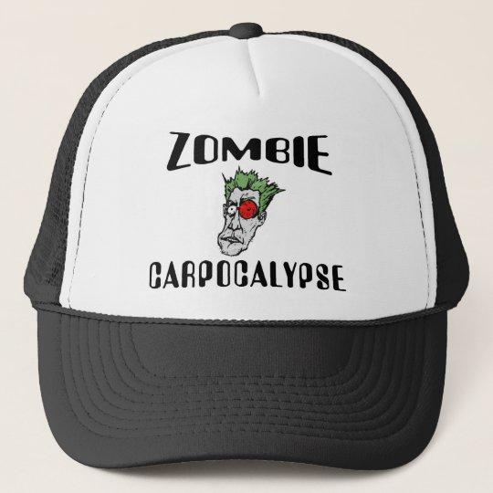 Zombie Carpocalypse Trucker Hat