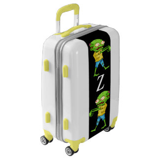Zombie Carry On Luggage Suitcase