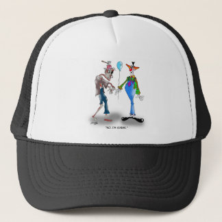 Zombie Cartoon 9373 Trucker Hat