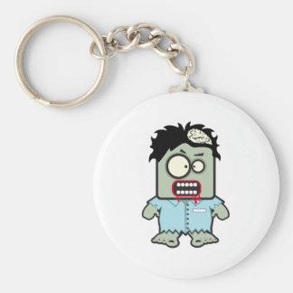Zombie Cartoon Keychain