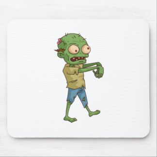 Zombie Cartoon Mouse Pad