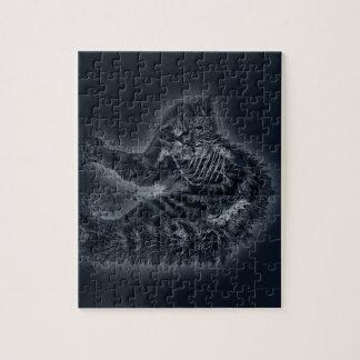 Zombie Cat Jigsaw Puzzles