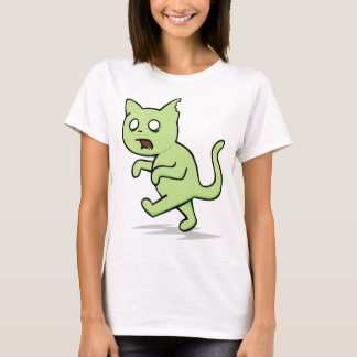 Zombie Cat Rises Again T-Shirt