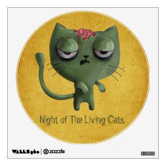 Zombie Cat Room Graphic