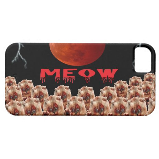 ZOMBIE CATS A MARCHING iPhone 5 COVER