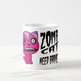 Zombie Cats need Brains Too! Coffee Mug