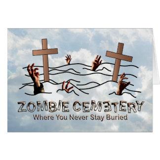 Zombie Cemetery - Basic Card