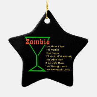 Zombie Ceramic Ornament