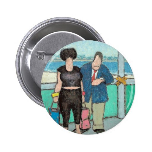 Zombie CFO AND Mail Order Bride 2 Inch Round Button