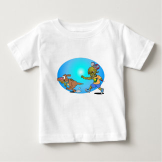 Zombie Chase Baby T-Shirt