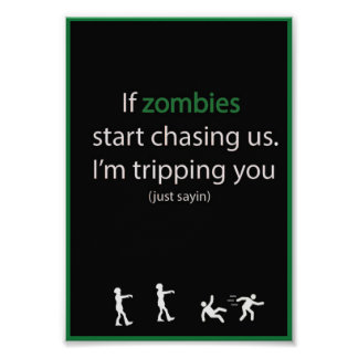Zombie Chase Poster