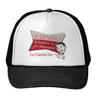 Zombie Chase Trucker Hat