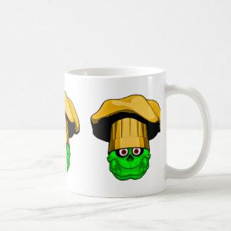 Zombie Chef Skull v9 Coffee Mug