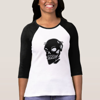Zombie Chic Ladies Fitted Baseball Jersey T-Shirt
