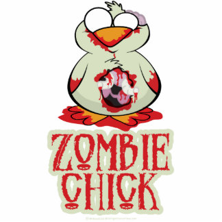 Zombie Chick Photo Cut Outs