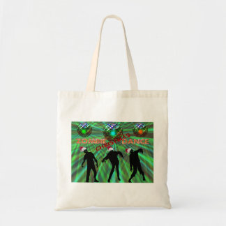 Zombie Christmas Disco Dance Tote Bag
