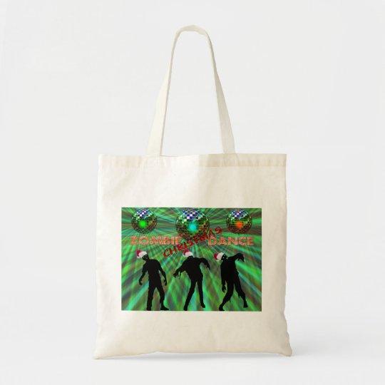 Zombie Christmas Disco Dance Tote Bag