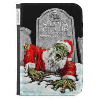 Zombie Christmas Double Sided Cases For Kindle