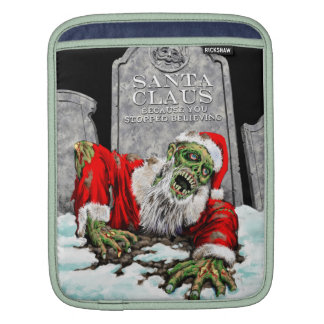 Zombie Christmas Double Sided iPad Sleeves