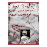 Zombie Christmas Greeting Cards