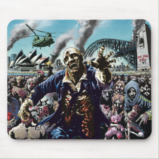 Zombie Cities: Sydney Zombies Mouse Pad