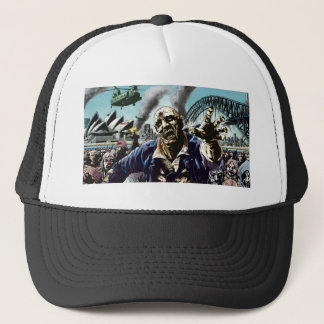 Zombie Cities: Sydney Zombies Trucker Cap