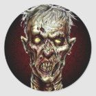 Zombie!! Classic Round Sticker