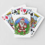 Zombie Claus Bicycle Poker Deck
