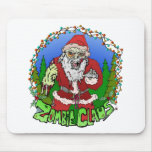 Zombie Claus Mouse Pad