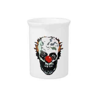 Zombie clown beverage pitchers