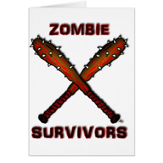ZOMBIE CLUBS Aprons & Bags Card