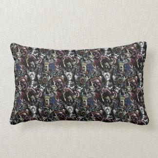 Zombie Cluster Lumbar Pillow