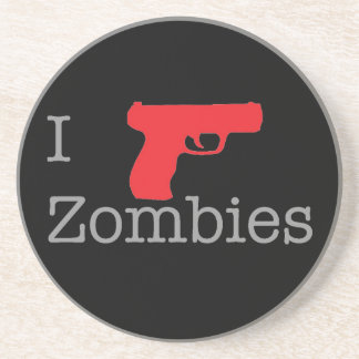 Zombie Coast (darkness) Drink Coaster