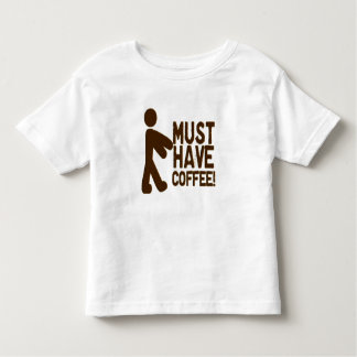 Zombie Coffee Toddler T-shirt