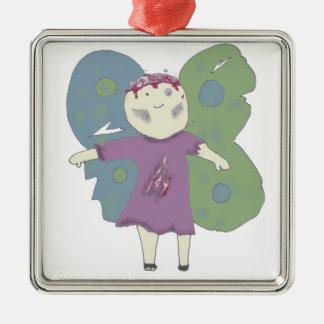 Zombie Confuzzled Fae Ornament