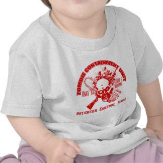 Zombie Containment Unit - Outbreak Control Team Shirt