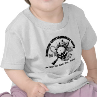 Zombie Containment Unit - Outbreak Control Team Shirts