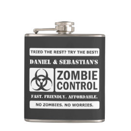 Zombie Control Flasks