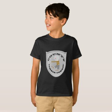 Halloween Themed Zombie Control T-Shirt