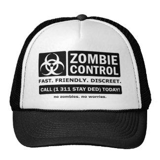 Zombie Control Trucker Hat