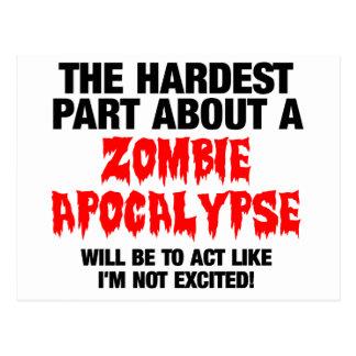 Zombie Cool Design Postcard