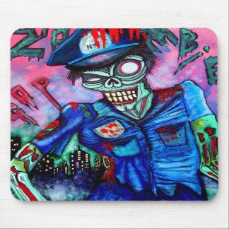 Zombie Cop Mousepad