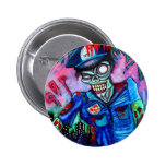 Zombie Cop Pins