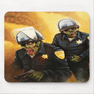 Zombie Cops Mouse Pads