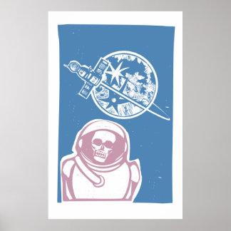 Zombie Cosmonaut Posters