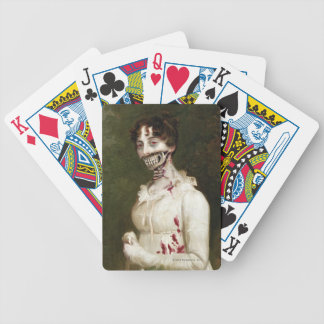 Zombie Cover Bicycle Playing Cards