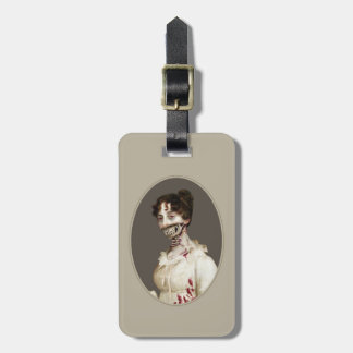 Zombie Cover Luggage Tag